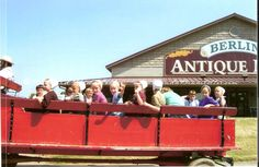Wave hello to the locals while shopping in Berlin, in Ohio's Amish Country. CLICK HERE for more about Ohio's Amish Country at www.OACountry.com! #Amish #Ohio #Tourism