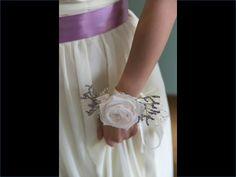 bridal flower - bracelet - elegance - simplicity