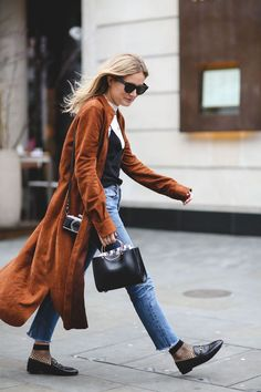 awesome Street Style : The Best Street Style From LFW AW16