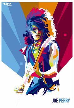 Joe Perry Aerosmith WPAP by bennadn on DeviantArt Joe Perry, Aerosmith, Tatjana Saphira, Rock And Roll Bands, Rock Bands, Pop Art Artists, Elevator Music, The Jam Band, Pop Art Portraits