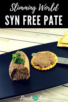 Slimming World Syn Free Pate Slimming World Recipes Slimming World Dips, Slimming World Taster Ideas, Slimming World Recipes Syn Free, Slimming Eats, Slimming World Starters Recipes, Slimming World Syn Values, Pate Recipes, Cooking Recipes, Cooking Videos
