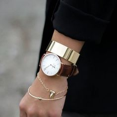 57c9936ebb8eb Cheap   Chic Bracelete De Ouro, Brincos, Pulseiras, Joias Simples, Relógios  Pulseira