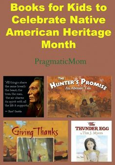 Books for Kids to Celebrate Native American Heritage Month :: PragmaticMom #KidLit that celebrates how we are all connected on this earth.