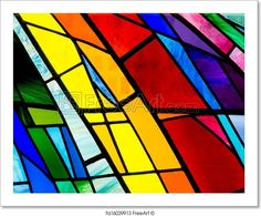 Stock Photography of Colorful Stain Glass - Wonderful colors in this stain. - Search Stock Photos, Pictures, Images, and Photo. Glass Panel Wall, Glass Panels, Glass Art Pictures, Pictures Images, Free Art Prints, Glass Marbles, World Of Color, Stained Glass Windows, Stock Photos