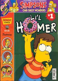 Little Homer Simpson Comic Book