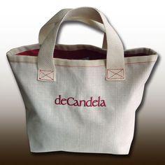 """Bolso """"Shopping deCandela"""" Cómodo, práctico, de capacidad y estiloso.  www.decandela.es"""