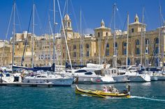 Photo about Maritime Museum & marina at Vittoriosa in Valletta on the Mediterranian Island of Malta. Image of marina, tourism, vacation - 16469013 Malta Italy, Places To Travel, Places To See, Capital Of Malta, Malta Beaches, Yacht Cruises, Sailing Holidays, Beautiful Sunrise, Travel Memories