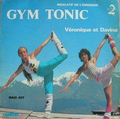 Pied Piper: Véronique Et Davina - Gym Tonic ULTRA-RARE Aerobics EuroDisco 1982 LP