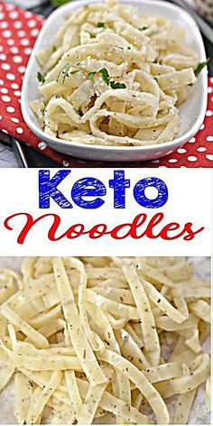 Yummy keto noodle recipe for the BEST low carb pasta noodles. A low carb noodle everyone loves. Low carb noodles with this pasta. Keto recipes easy to make & healthy - gluten free, sugar free. Keto dinner easy to prepare. Low ca Low Carb Noodles, Pasta Noodles, Gluten Free Noodles, Shirataki Noodles, Ketogenic Recipes, Ketogenic Diet, Paleo Diet, Vegetarian Keto, Whole 30 Recipes