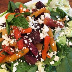 Beet, Mint, and Feta Salad