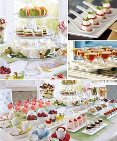 Tasting Party: Ideas, Themes, Recipes & More ǀ Pier 1 Imports. I love the idea of tasting parties, but like I need more dishes! Aperitivos Finger Food, Fingers Food, Food Tasting, Dessert Buffet, Mini Desserts, Party Desserts, Mini Foods, Party Entertainment, Appetizers For Party