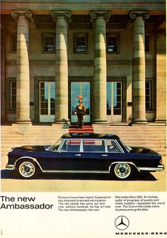 Mercedes-Benz 600 W100 - An ambassador of progress
