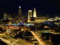 Downtown Cleveland, Ohio.   Love it!!