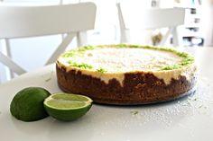 lime cheesecake Lime Cheesecake, Desserts, Sweet Treats, Lemon Cheesecake, Tailgate Desserts, Deserts, Dessert, Food Deserts