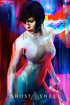 Ghost in the Shell, This made for a beautiful poster!