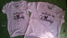 Addicted To Disney I'm Her Prince I'm His Princess Disney Castle Wedding Date Minnie Bow Mickey Head, Married With Mickey