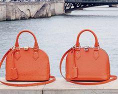 Daily Obsession: Louis Vuitton Alma BB in Pigment Orange