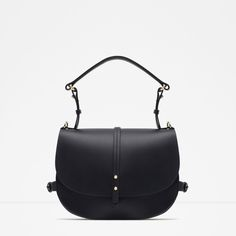 LEATHER MESSENGER BAG-View all-Bags-WOMAN | ZARA United States