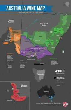 Australian Wine Map