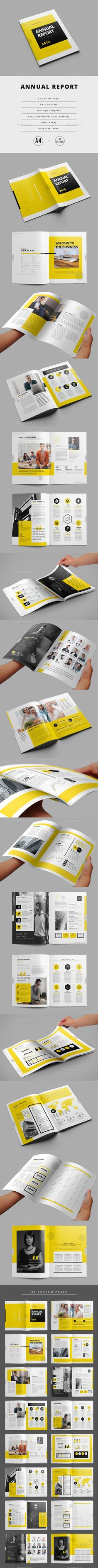 Annual Report Corporate Brochure Template by Travel Brochure Template, Brochure Layout, Corporate Brochure, Company Profile Template, Company Profile Design, Indesign Templates, Print Templates, Diagram Design, Ppt Design