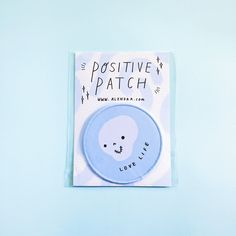 """Woven patches with embroidered edges perfect to put wherever you want! And even better, they're iron on!!3.5"""" in diameter."""