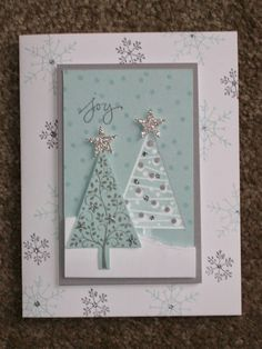 The Happy Stamper: Festival of Trees card