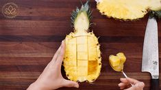The BEST Pineapple Fried Rice on a Pineapple Bowl Recipe & Video - Seonkyoung Longest Rice Recipes, Seafood Recipes, Cooking Recipes, Asian Recipes, Pineapple Bowl, Pineapple Fried Rice, Sauce For Rice, Seonkyoung Longest, Carrots And Green Beans