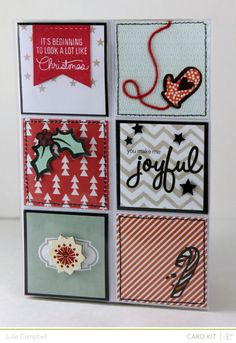 """Joyful """"Coin Pocket"""" Card by Julie Campbell at @Studio_Calico"""