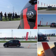 KIA - the power to surprise! Ability tournament, safety training and Quad Race at Driving Camp Pachfurth! Safety Training, Let's Have Fun, Marketing, Quad, Austria, Competition, Racing, Sunset, Running