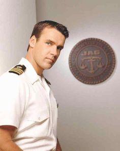 David James Elliott. . . the man sure could wear an uniform!