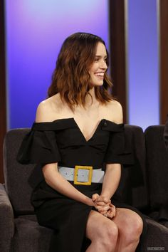 Daisy Ridley at Jimmy Kimmel Live! in Los Angeles