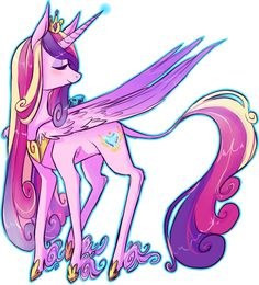 Princess Cadence by plumsweet Princess Cadence, My Little Pony Princess, Princess Celestia, Mlp My Little Pony, My Little Pony Friendship, My Little Girl, Queen Chrysalis, Little Poni, The Last Unicorn