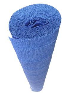 Italian Crepe Paper roll 180 gram - 557 CARIBBEAN BLUE