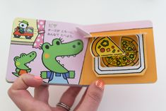 food pop-up book by warabe kimika