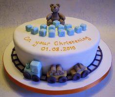 Christening Cake, boy
