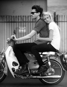 moped love...now if i could talk David into riding one with me!