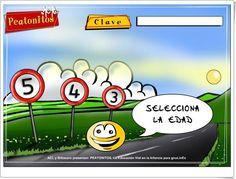 """""""Peatonitos"""" (Juego de Educación Vial de Infantil) Cultural, Teaching Resources, Infancy, Learning, Games"""