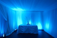 blue room for like a graduation party or something !