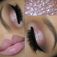 The Best Wedding Makeup Ideas For Brides, Bridesmaids, And The Entire Bridal Party. We Cover Make Up Ideas For Blondes, For Brunettes, For Long Hair, Medium Length Hair And Short Hair. We Cover Natural And Vintage Looks And How To Give A Bride Or Bridesmaid A Dramatic Or Romantic Look. Some Makeup Ideas For Brides With Hazel Eyes, Blue Eyes, Green Eyes, Or For Brides With Brown Eyes. These Stunning Makeup Ideas For Wedding Makeup Are Great For Summer, Fall And Winter. #pinklipsbrunette