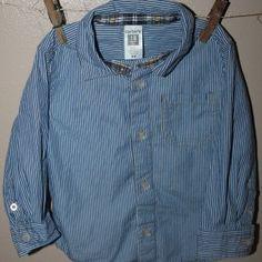 Stripe shirt, 18 months