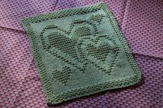 heart face cloth