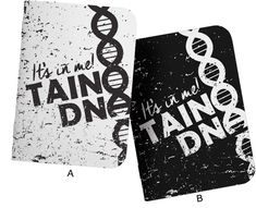Taino DNA; Taino Pride; Native Pride Designer Notebooks from www.tainorising.com