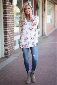 363603237aa738 Fashion Women s Ladies Summer Long Sleeve Shirt Loose Casual Blouse Tops  T-Shirt