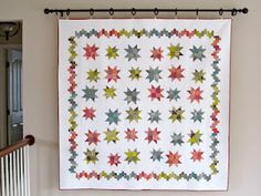 The pattern is Bounce, by Miss Rosie's Quilt Co.