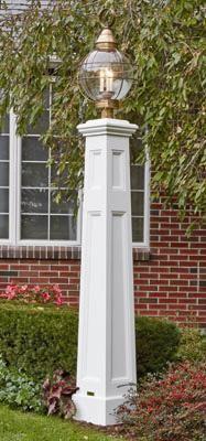 Seaside Pillar Lantern Post