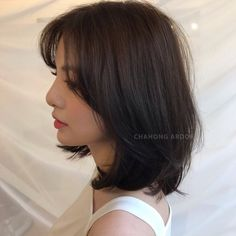 Medium, Beachy Waves with Ombre Highlights - 40 On-Trend Balayage Short Hair Looks - The Trending Hairstyle Medium Hair Cuts, Short Hair Cuts, Medium Hair Styles, Curly Hair Styles, Short Styles, Pixie Cuts, Light Hair, Hair Lights, Pelo Ulzzang