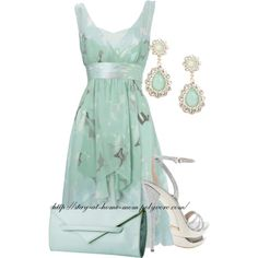 Jade Outfit - so pretty for a wedding or the races