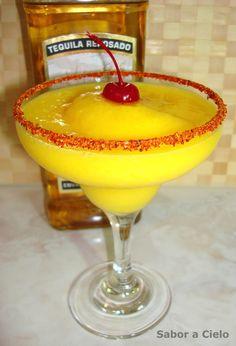 Sabor a Cielo: Margarita de mango