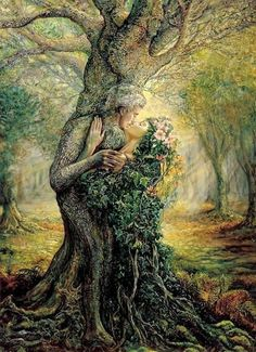 Artwork by Josephine Wall