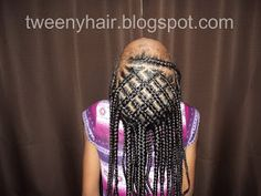 Beads, Braids and Beyond: Woven & Criss Cross Cornrows